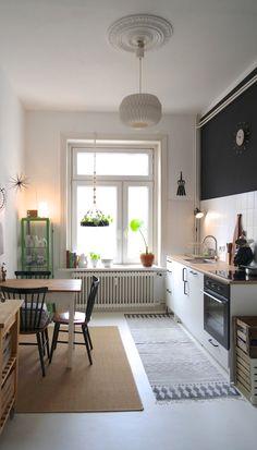 Beim Einzug War Unsere Küche Komplett Im 80er Jahre U0027Chicu0027 Braun Gefliest (  Wände
