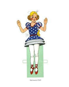 Kati, The Nutcracker Ballerina Paper Doll - Maria Varga - Picasa Web Albums