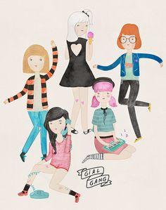 girl gang / melissa chaib