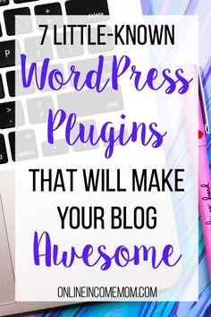 These WordPress plugins are pretty amazing! I can't wait to get them on my blog.