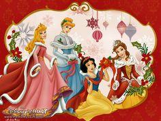 Princesas Disney Navidad