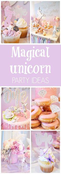 Magical Unicorn Birthday Party | Pretty My Party