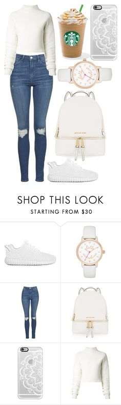 """Cute N' Simple"" by aaliyahsalmon ❤ liked on Polyvore featuring Kate Spade, Topshop, MICHAEL Michael Kors, Casetify and Dion Lee"
