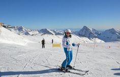 Italia, Valle d'Aosta. Monte Rosa: sciare con i bambini sulle vette che toccano il cielo. http://www.familygo.eu/viaggiare_con_i_bambini/valle-daosta/sciare-sul-monte-rosa-con-bambini.html