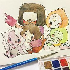 Watercolor cutises