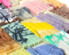 SUPER SAVER 20 Soaps, Our Variety Choice, Bulk Buy for Office/Family/Friend Gifts or Favors for Wedddings and Bridal/Baby Showers