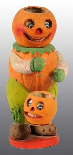 JOL Veggie Man with Lantern, German