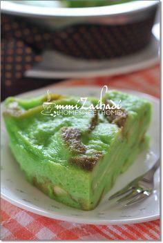 Home Sweet Home: Bingka Roti Kukus Pandan
