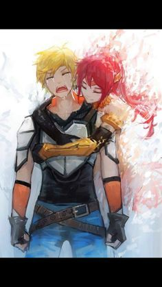 Jaune and Phyrra