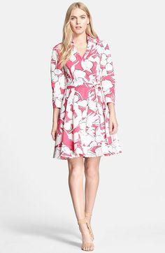 Diane von Furstenberg 'Jadrian' Floral Print Wrap Dress available at #Nordstrom
