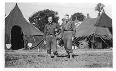 Lison, Col. Russel, C.O. (left) and Col. Nimitz, from 25th General Hospital: Courage & Skill in World War II--for an exhibit highlighting movements, personal narratives and medical contributions see http://digitalprojects.libraries.uc.edu/exhibits/25thGeneralHospital/; for entire collection see http://digproj.libraries.uc.edu:8180/luna/servlet/s/4lcgzb; connect on Facebook and share your own WWII General Hospital stories at http://www.facebook.com/UC25thGeneralHospital