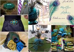 Peacock Inspiration Board
