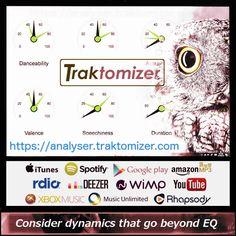 NEW TRAKTOMIZER ONLINE AUDIO ANALYSER IDENTIFIES YOUR SONG'S GREATEST STRENGTHS https://analyser.traktomizer.com