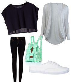 """""""School outfits 2013 (part 1)"""" by mariaahmadi091 ❤ liked on Polyvore"""