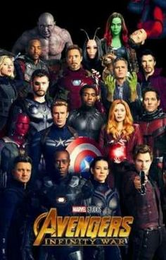 You are watching the movie Avengers: Infinity War on Putlocker HD. As the Avengers and their allies have continued to protect the world from threats too large for any one hero to handle, a new danger has emerged from the cosmic Marvel Comics, Films Marvel, Marvel Memes, Marvel Characters, Poster Marvel, Marvel Infinity, Avengers Infinity War, The Avengers, Black Avengers