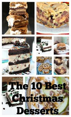 The 10 best mouth-watering, show-stopping Christmas Desserts #theultimateparty-Week 21