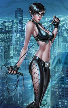 "imthenic: "" Catwoman by RyanMKincaid """