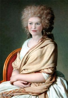 Celebrities in Classic Paintings - Julia Stiles