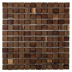 WENGE AL 25 - mozaika drewniana | DUNIN