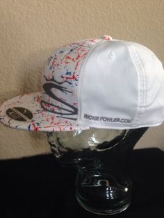 PUMA-Cobra-White-Split-Rickie-Fowler-Com-Tour-Cap-FLAT-BILL -CAP-Adjustsble-Smpl db81425fa75