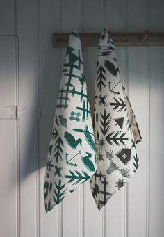 Tea Towels - made from 100% eco-friendly European hemp