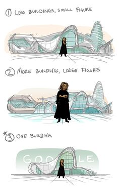 the illustration features a smiling hadid standing in front of the heydar aliyev center in azerbaijan, one of her final and most celebrated works.