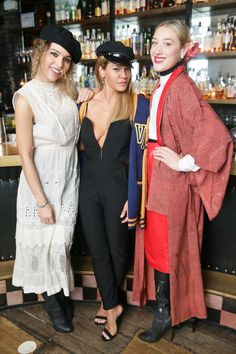 Cleo Wade, Jenne Lombardo, and Mia Moretti.