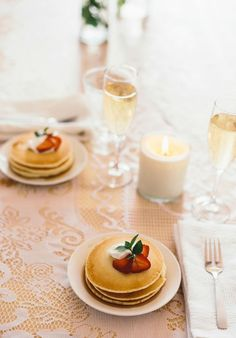 Candles and wine can be included at any meal to make it romantic.  Inspired by the movie Burnt in theaters October 30th!