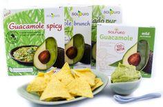 Gewinnen, gewinnen  Habt Ihr jetzt unbändige Lust auf Guacamole bekommen? Zu Eurem Glück haben wir 3 Testpakete mit allen 5 Sorten Solpuro Guacamole zu verschenken. Wer würde gerne kosten?