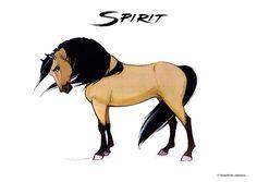 """Spirit """"Spirit, el corcel indomable"""" https://es.pinterest.com/isabeldcabado"""