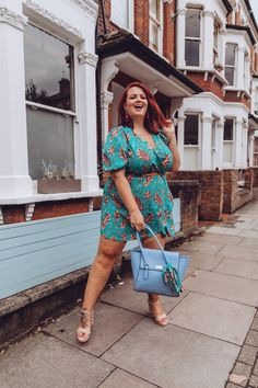 I love dresses. Georgina Horne, Western Style Belts, Dungaree Dress, Great Lengths, Patchwork Dress, Print Wrap, Blue Bags, Paisley Print, Dream Dress