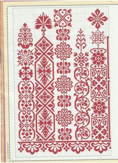 petitepointplace - Posts tagged patterns and stitches Cross Stitch Borders, Cross Stitch Samplers, Cross Stitch Charts, Cross Stitch Designs, Cross Stitching, Cross Stitch Patterns, Embroidery Motifs, Cross Stitch Embroidery, Blackwork