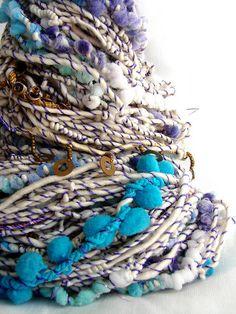 Hand Spun Art Yarn - SUHANI by Yarnmantra