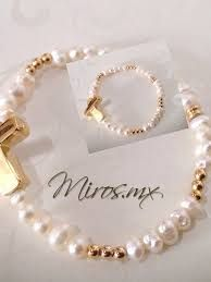 Resultado de imagen para pulseras de perlas