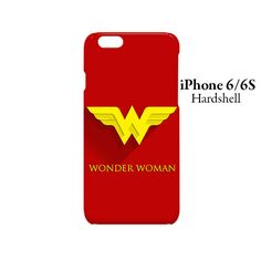 Wonder Woman Superhero iPhone 6/6s Hardshell Case