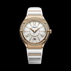 Piaget Polo Watch G0A35013, Pink gold, diamonds