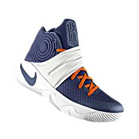 I designed the dark blue, white and orange Illinois Fighting Illini Nike  men's basketball shoe