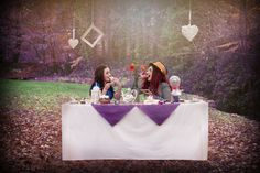 Tea with the Mad Hatter by Julene Evans Photography