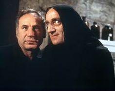 "Mel Brooks with Marty Feldman - from the movie ""Young Frankenstein""  Marty Feldman cracks me up"