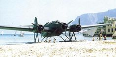 CZ-506 float plane at rest in Palermo, Sicily (1943)