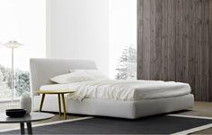 Spare bedroom - lighter & softer.  Atelier bed.