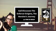 Gail Discusses The Enforcer Enigma, The Heroine's Journey, and Tons of G... Gail Carriger, San Andreas, Book 1, Gossip, Romance, Journey, Author, Youtube, Romantic Things