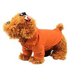 Pet ClothesElevinTM Summer Small Dog Cat Pet Puppy Polo Shirt Apparel TShirt M orange -- Be sure to check out this awesome product.