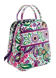 1 of the many Vera Bradley lunchboxs that you can get! suggestion- get them  all. 2990a7402a01d