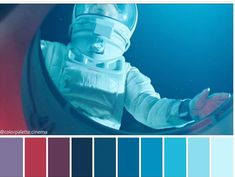 Gary Shaw, Astronaut Illustration, Cinema Colours, Colour Pallete, Color Palettes, Mood And Tone, Costume Design, Cinematography, Photo And Video