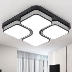 83.45$  Buy now - Modern Ceiling Light Lamparas De Techo Plafoniere Lampara Techo Salon Bedroom Light For Home LED Ceiling Lamp Dcor Lantern  #SHOPPING