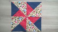 Olá!!! Hoje fiz mais dois blocos prá minha coleção. Ái gente, tô adorando tanto fazer patchwork, é tão desfiador, mas adorável! Devagarin...