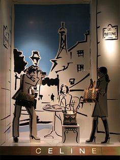 CELINE - Vidrieras de Tokyo, pinned by Ton van der Veer #millinery #judithm #hats