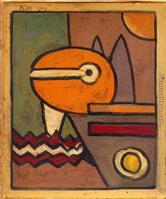Paul Klee 1914 Painting