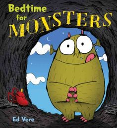 A hungry monster seeks a different type of bedtime snack.